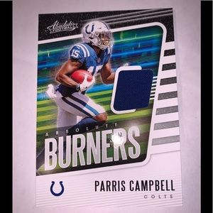 Indianapolis Colts nfl card Paris Campbell rookie
